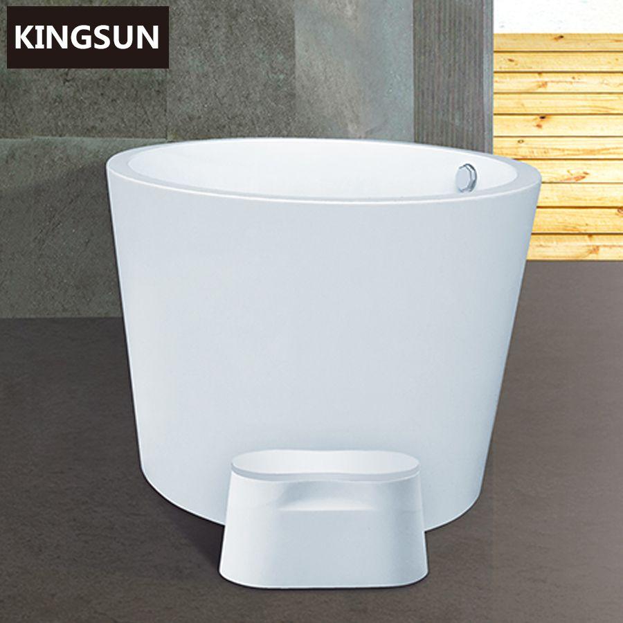 k 8714 neue ankunft spezielle sehr kleine acryl badewanne runde badewanne mit abtropffl che. Black Bedroom Furniture Sets. Home Design Ideas