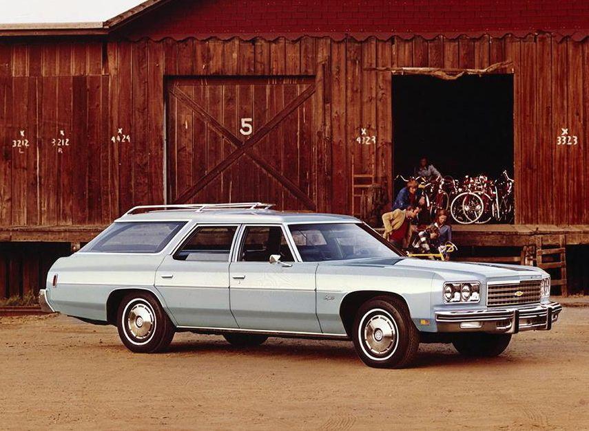 1976 Chevrolet Impala Station Wagon 1b Car Chevrolet Chevrolet Wagon Cars
