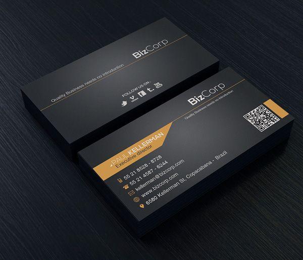 elegantes tarjetas de presentación proyectos que intentar busin