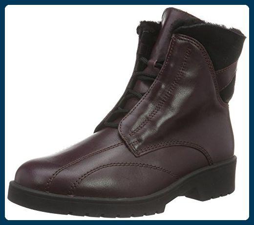 Ganter Damen Ellen, Weite G Kurzschaft Stiefel, Rot (Vino / Schwarz 4201), 38.5 EU (5.5 UK) - Stiefel für frauen (*Partner-Link)