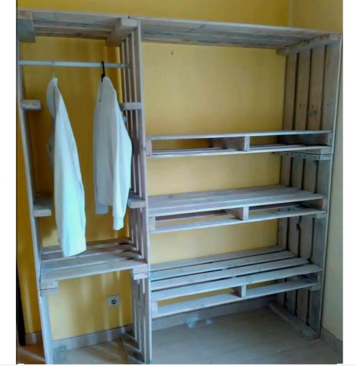 Шкафы из паллетов фото