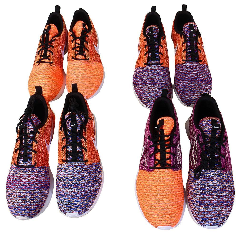 Nike Flyknit Rosherun NM Special Collection Random Yarn Color Mens Shoes  NSW http://