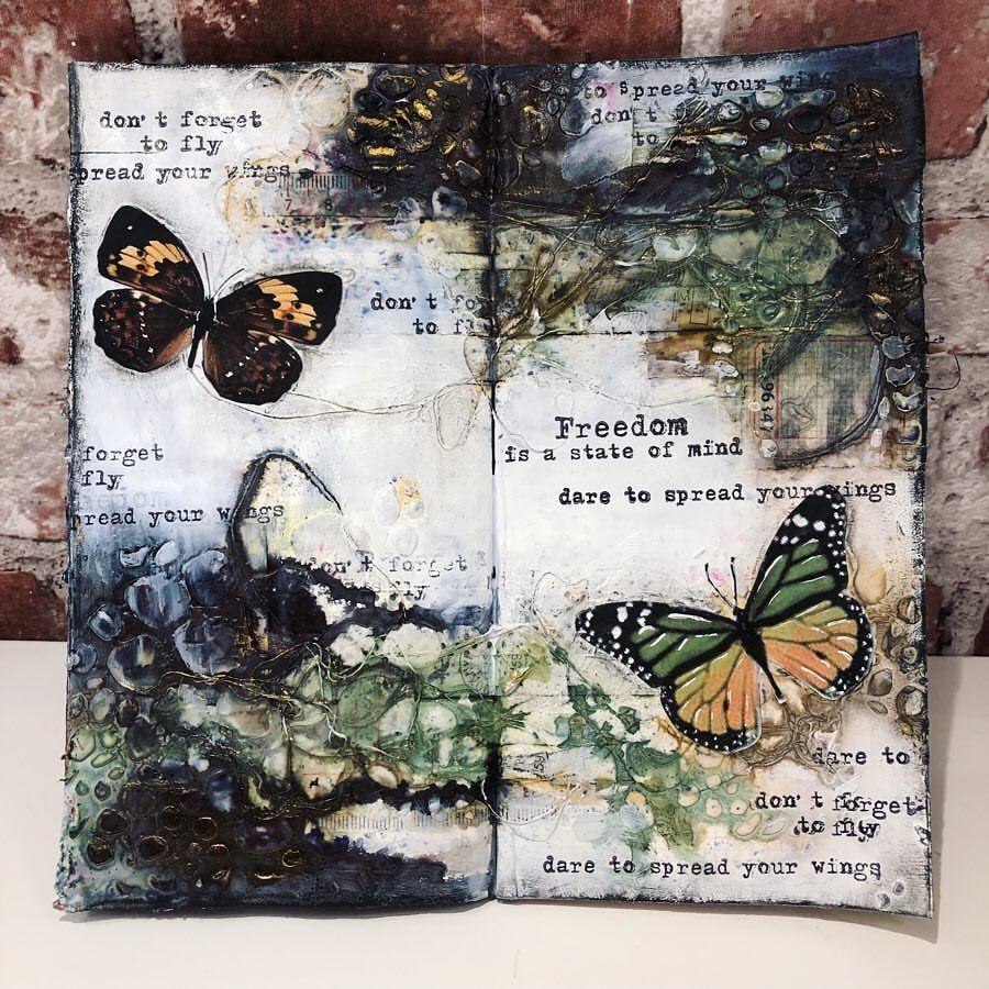 132 Gilla Markeringar 28 Kommentarer Jessica Rosengren Jes Son Pa Instagram Freedom Is A State Of Mind Art Freedom Art Art Journal Book Art Projects