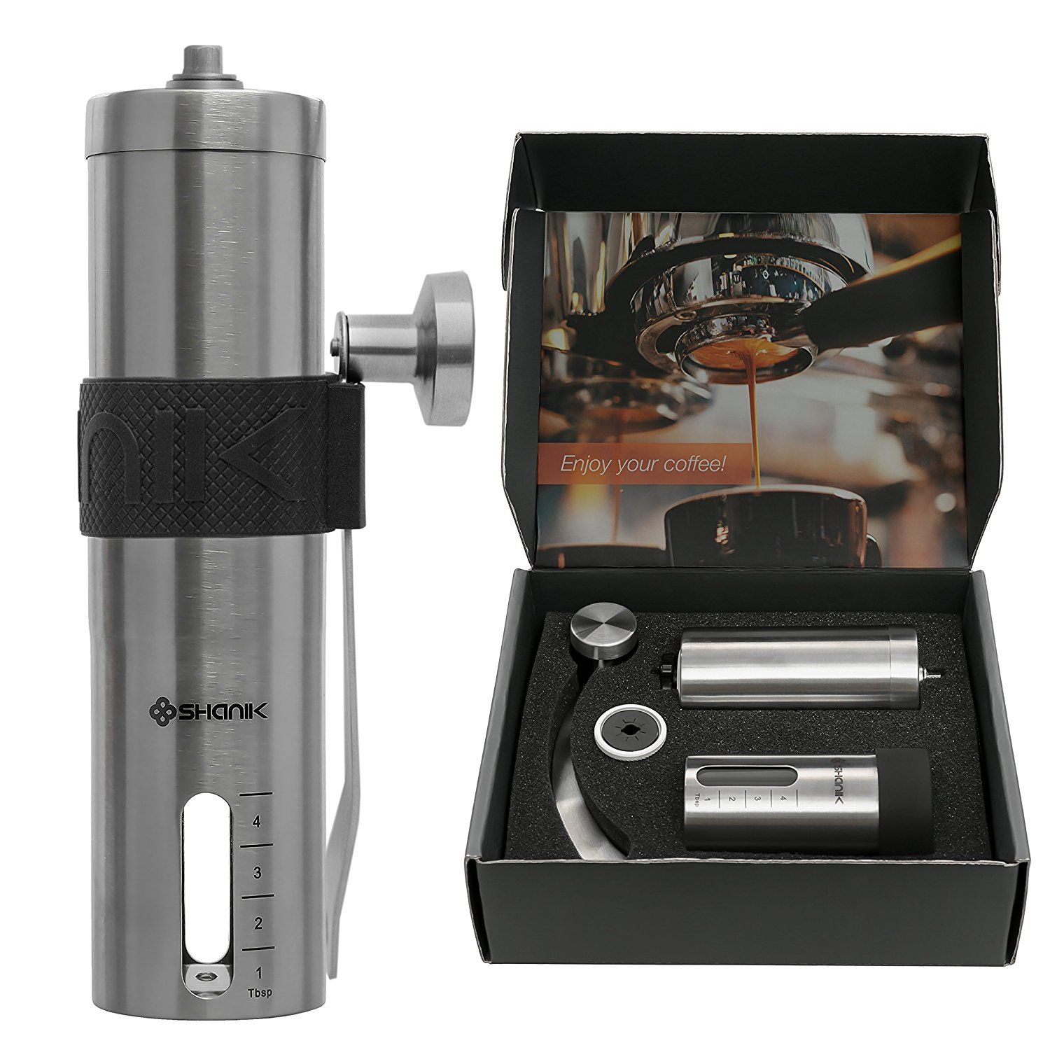 Premium Quality Stainless Steel Manual Coffee