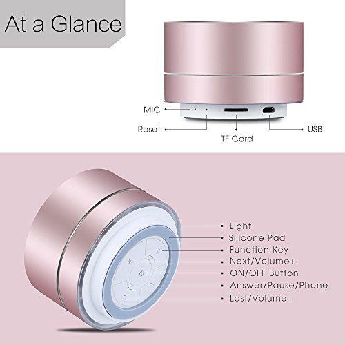lenrue portable wireless speaker