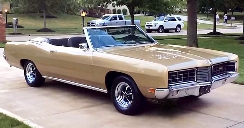 1970 Ford Xl Convertible Champagne Gold 61 000 Miles Classic Cars American Classic Cars Ford Galaxie