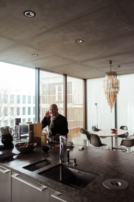 Penthouse Berlin Mitte christian boros penthouses ceilings and building