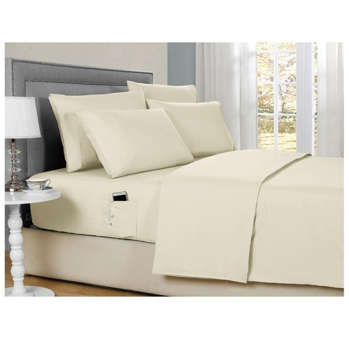 Daily Deal Bed Sheets 6-Piece Smart Sheets Set – UntilGone.com