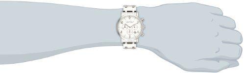 d374d023fd5 Caravelle New York by Bulova Men s 43B138 Analog Display Japanese Quartz  White Watch CHRONOGRAPH