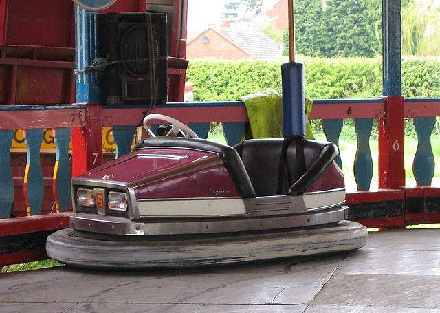 Supercar Dodgem Super Cars Carnival Rides Bumpers