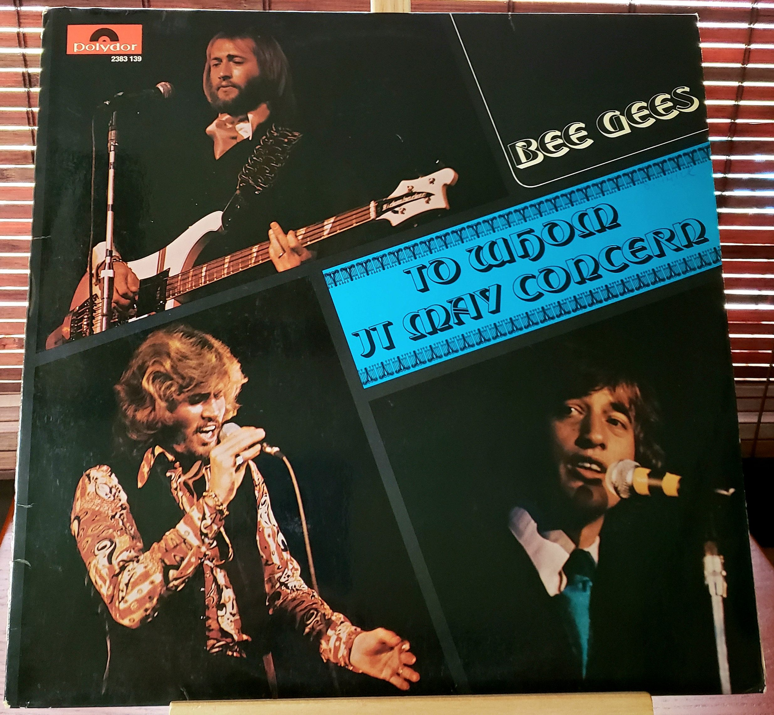 Bee Gees To Whom It May Concern Vinyl Lp Polydor Gema 2383 139 1972 By Thevintagebitchfinds On Etsy Bee Gees Vintage Bee Vinyl
