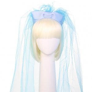 Headband by Sereni & Shentel. Hen's veil - Kiss me please! Bride to be in Bluebird. Made in Borneo. Shop here: http://sereniandshentel.com/hen-s-veil/761-kiss-me-please-bride-to-be-bluebird.html $69
