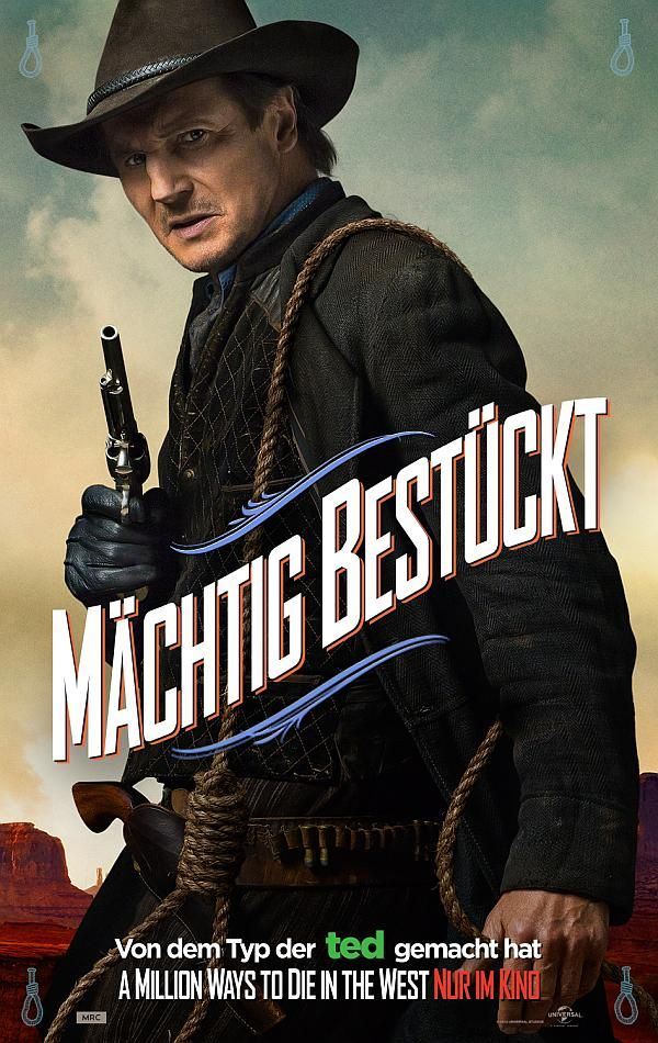 A Million Ways To Die In The West Stream A Million Ways To Die In The West Liam Neeson Als Clinch Machtig Bestuckt C Universal Pictures Germany With Images Full Movies Online Free Full Movies Full Movies Online