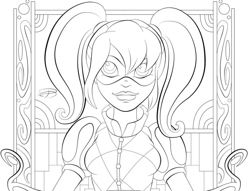 - DC Superhero Girls Coloring Pages Coloring Pages For Girls