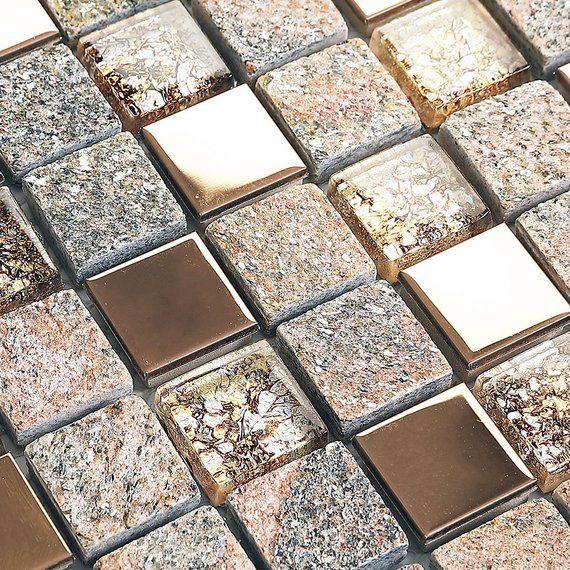 Metal Backsplash Tiles