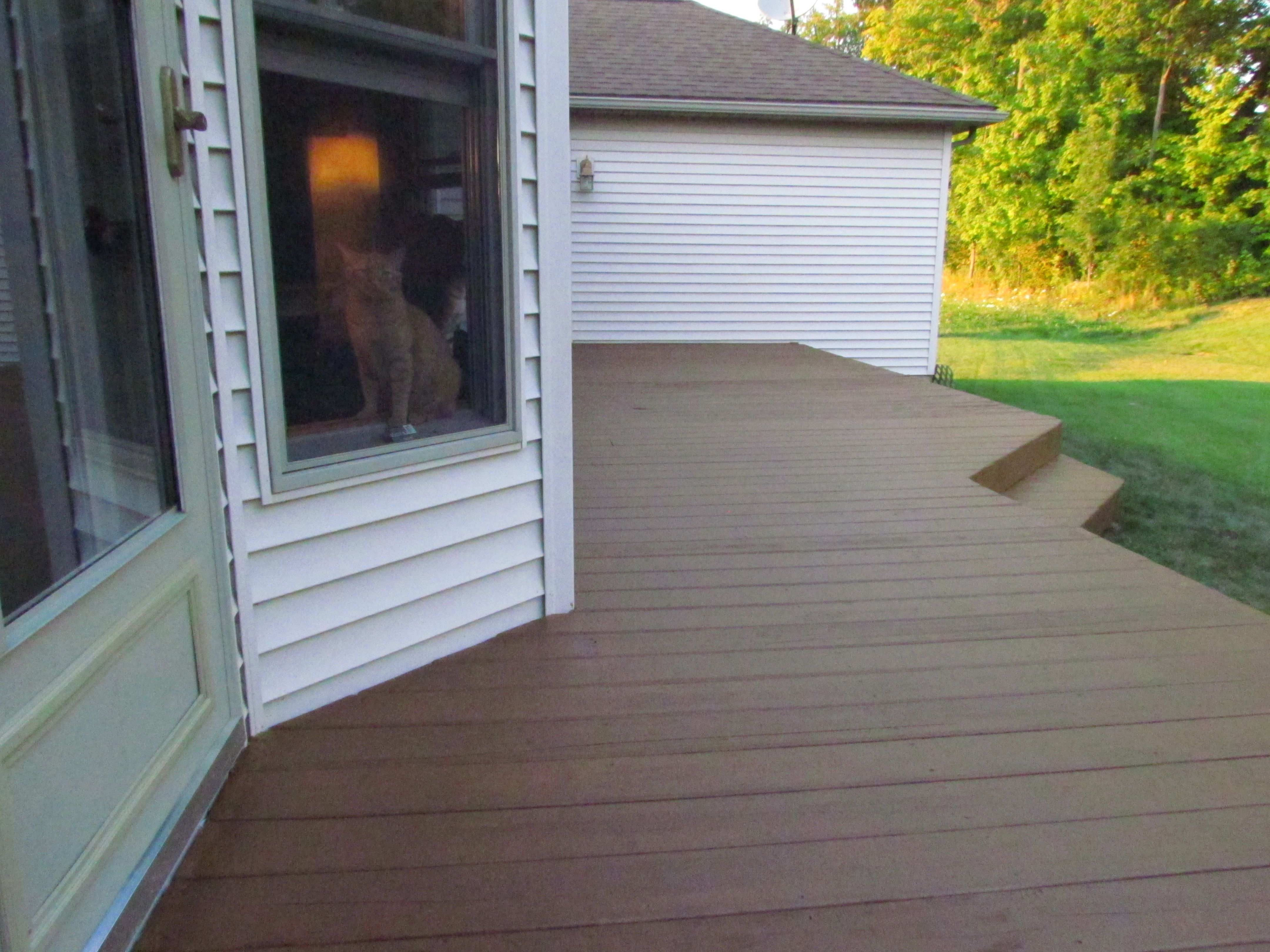 Flood Stain For Wood Semi Transparent Chestnut Color Staining Deck Deck Stain Colors Deck