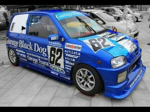 Daihatsu Mira Racing Daihatsu K Car Mini Cars