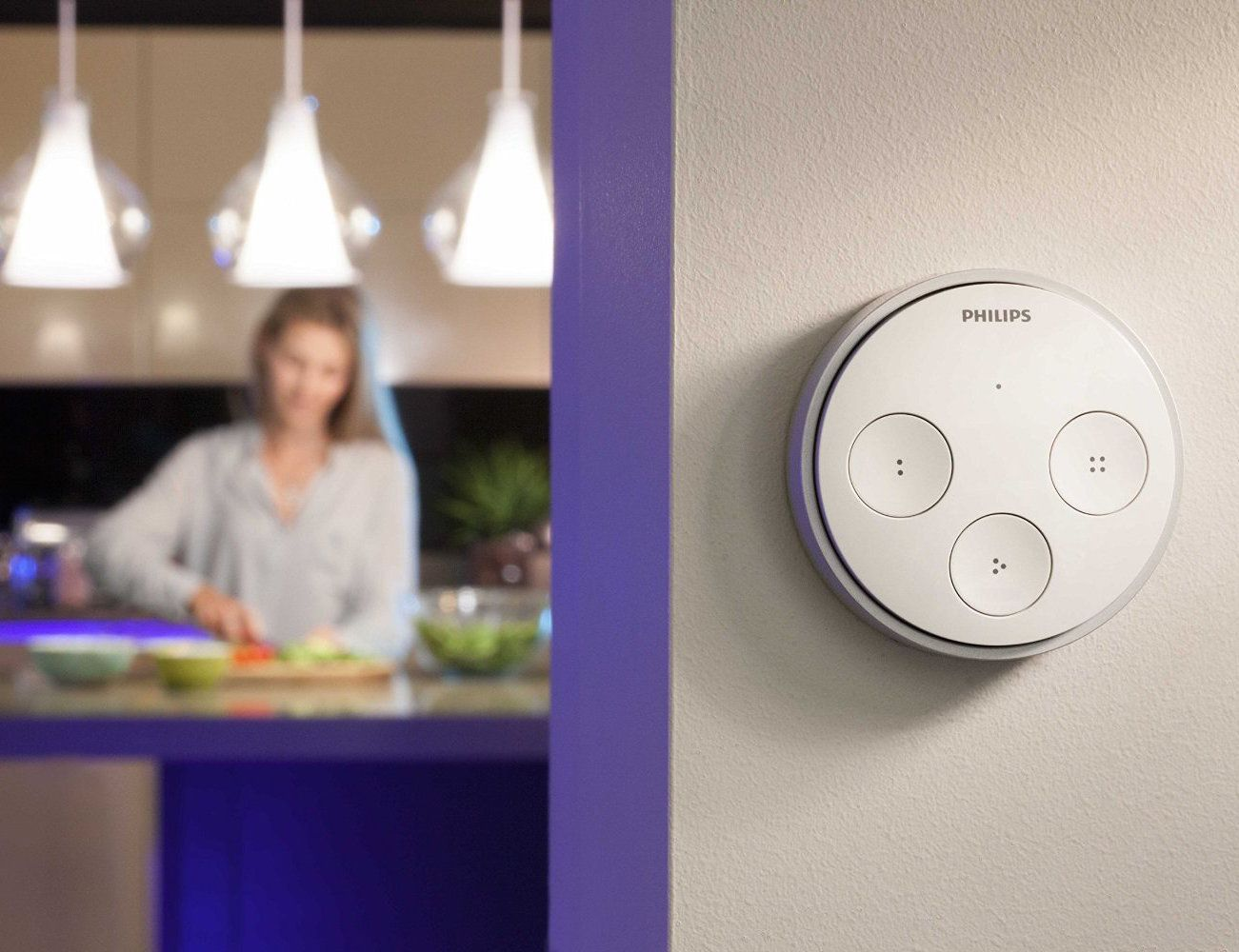 Philips Hue Tap Easier Control of Your Wireless Lighting