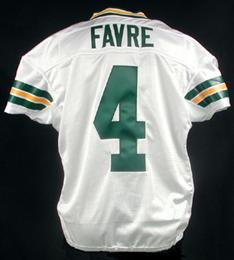 sports shoes 18d7a 23bea Brett Favre's Packers Jersey | Sports | Packers football ...