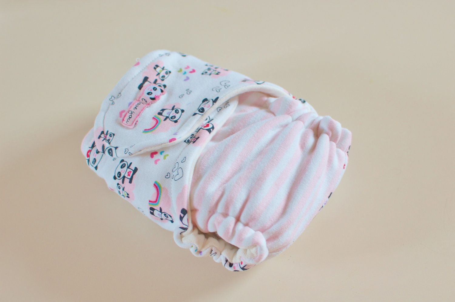 Fitted cloth diaper 2300 via etsy fitted cloth