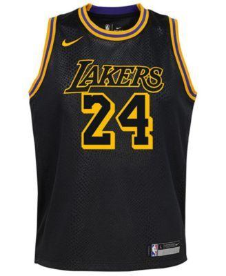 half off 41224 21aff Nike Kobe Bryant Los Angeles Lakers City Edition Swingman ...