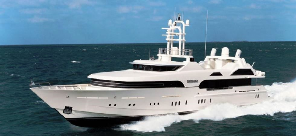 Yacht Sussorro Owned By Roman Abramovich Russian Investor
