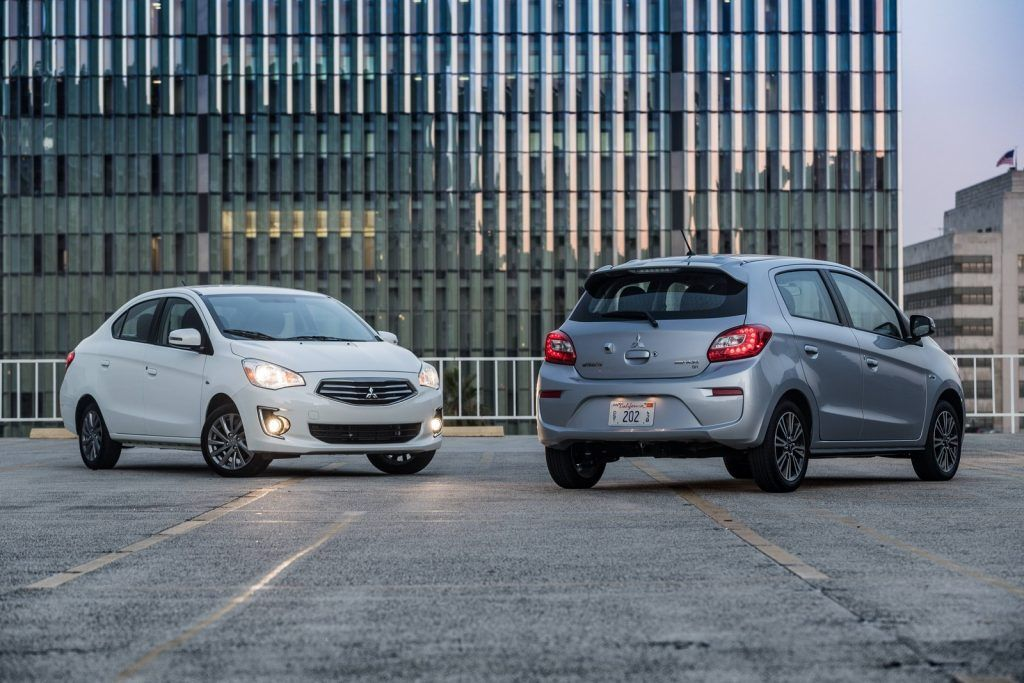 A Beautiful Looking 2020 Mitsubishi Mirage Is A Hatchback With