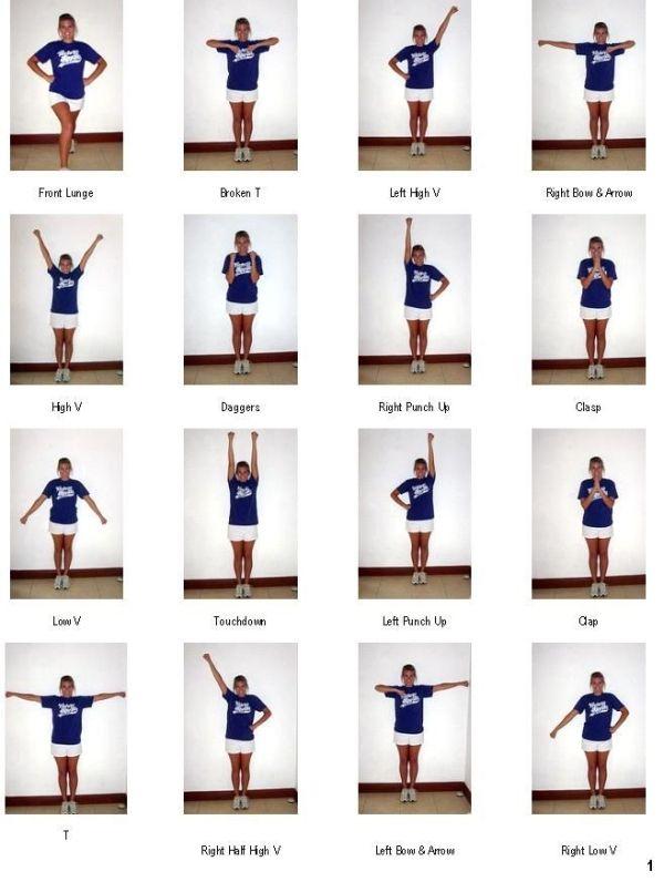 Cheer Routines Step Step