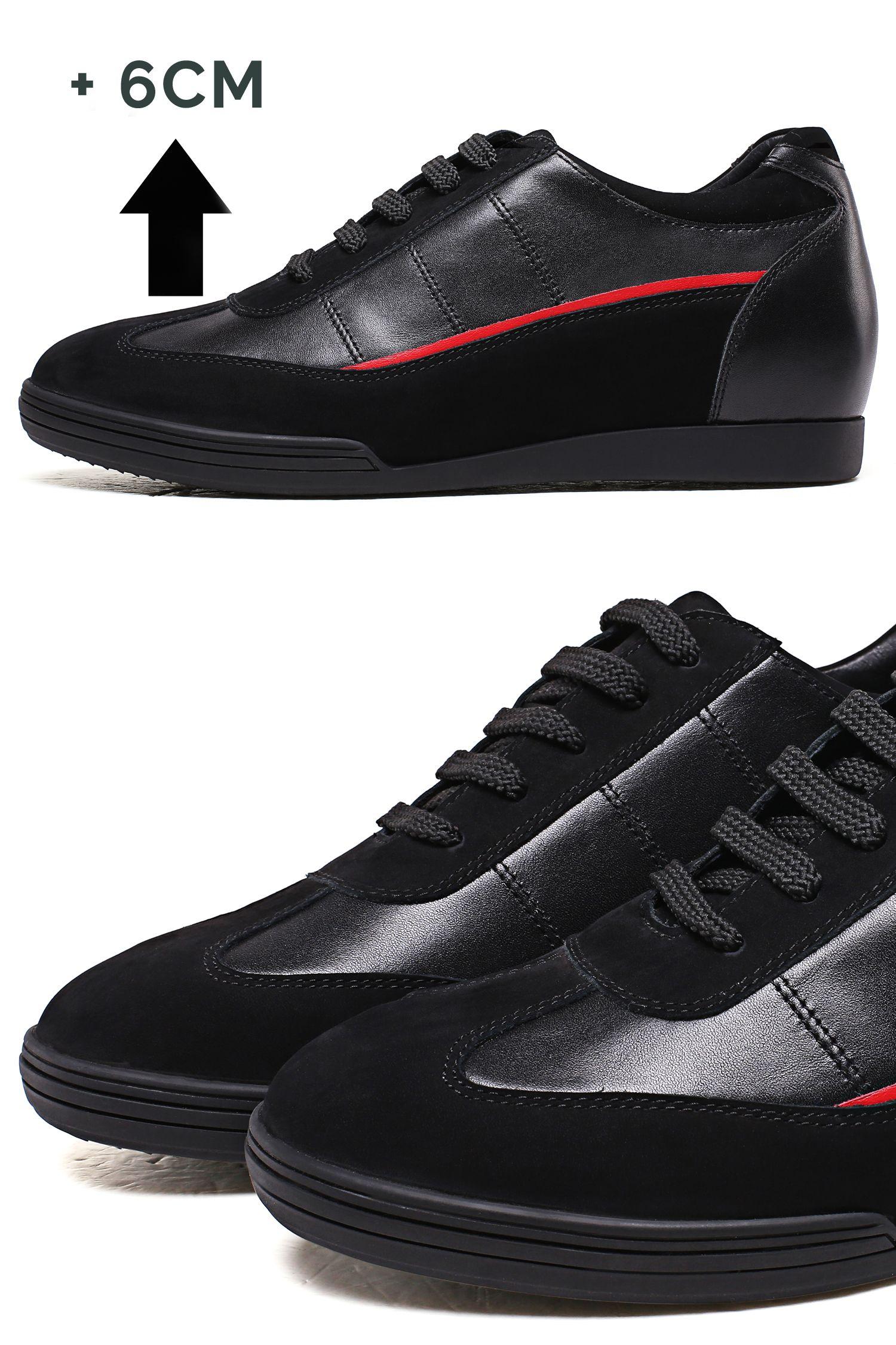 Codzienne Modne Buty Podwyzszajace Wzrost O 6cm Black Sneaker All Black Sneakers Sneakers