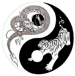 Tiger Dragon Yin Yang Meaning Haha I Don T Know About You But I