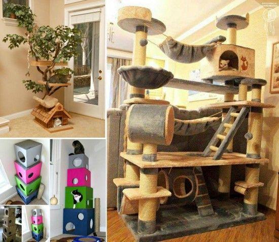 Diy cat trees cat tree diy cat tree and cat for Diy cat furniture