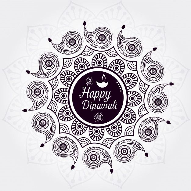 Creative Happy Diwali Background Design