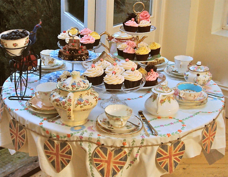 Tea Party Table Set Up