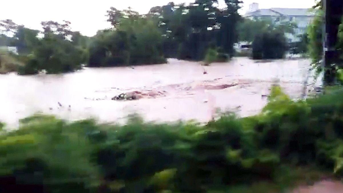 Whirlpool created by Burlington flooding http://www.ctvnews.ca/video?clipId=411841&playlistId=1.1946067&binId=1.810401&playlistPageNum=1