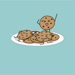 Chocolate Chip Cookies Baked Plate Dessert Heart Sticker Zazzle Com In 2021 Chocolate Chip Cookies Cookie Drawing Chip Cookies