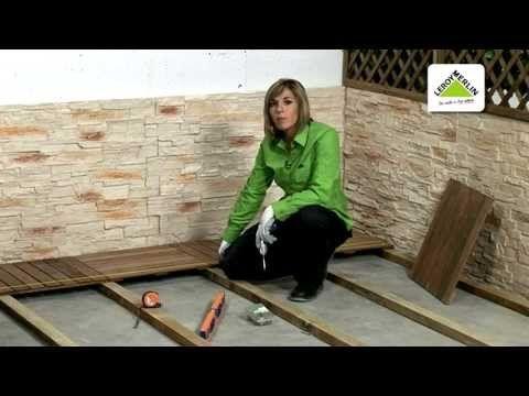 C mo instalar un suelo de exterior leroy merlin - Como instalar suelo vinilico ...