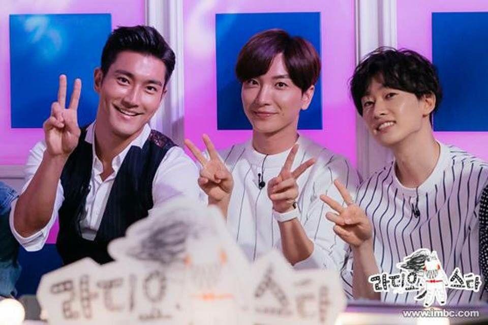 Siwon, Leeteuk & Eunhyuk
