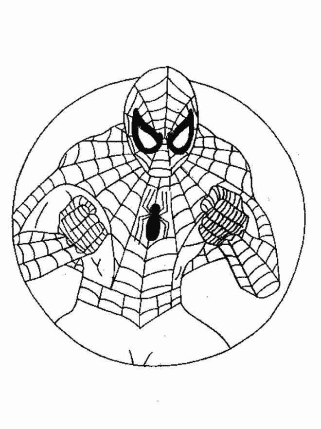 Spiderman Coloring Pages For Preschoolers   marvel   Pinterest