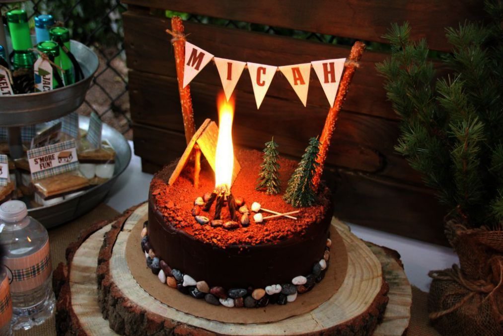 Camping Tents Kelowna Or Camping Tents Walmart Also Camping Gear Blog Until Best Tent Camping Camping Cakes Camping Birthday Party Happy Camper Birthday Party