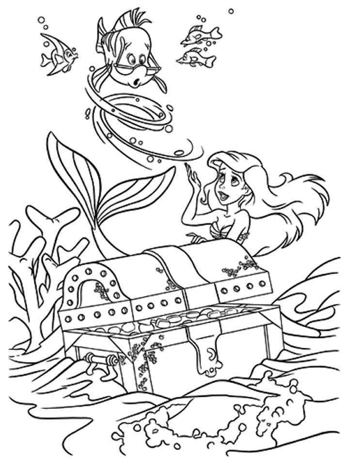 صور رسومات كرتون للتلوين للأطفال للطباعة لتعليم التلوين ميكساتك Ariel Coloring Pages Disney Coloring Pages Mermaid Coloring Pages