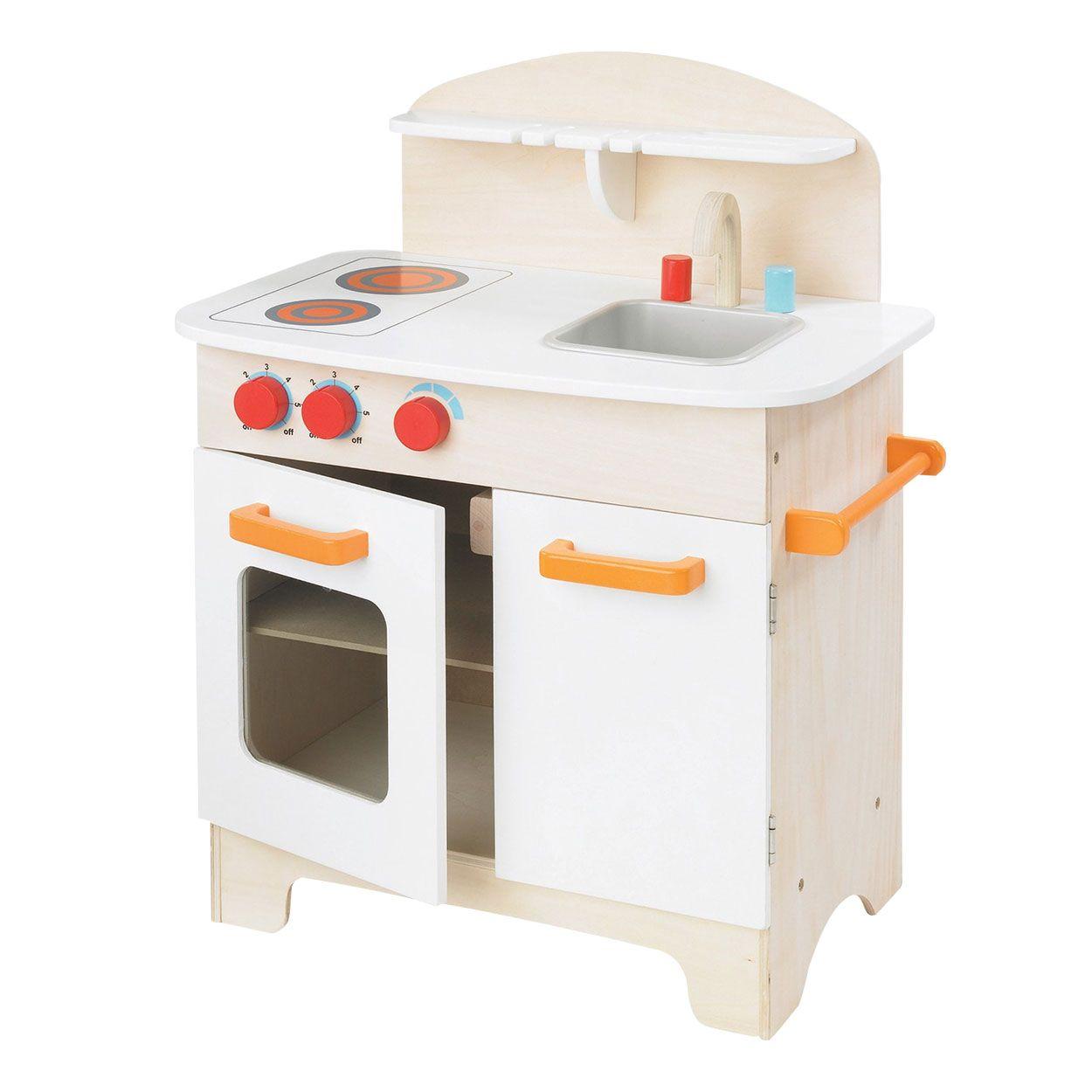 Een simpele witte keuken zonder poespas. Geschikt voor kindjes vanaf ...