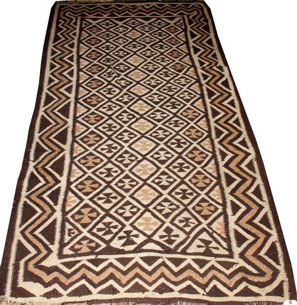 Ethiopian Woven Wool Rug C 1960 Lot