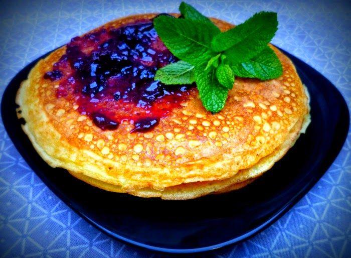 Pancakes de arroz: sin gluten ni lácteos