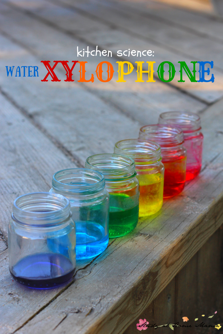 Kids Kitchen Water Xylophone Science Experiment   STEM ...