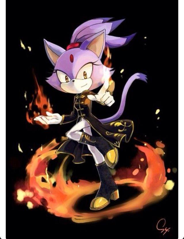 Blaze the cat!