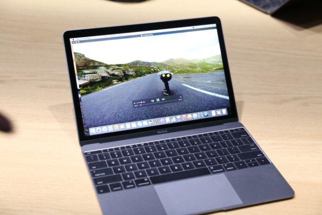 #Applemacbook- The thinnest #Macbook ever #Applewatchevent #Apple