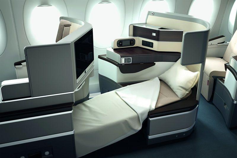 Aviation Design Aircraft Seating With Recaro Passport By Design Business Class Flight Business Class Seats Airplane Interior
