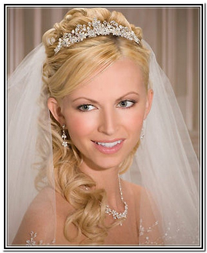 Wedding Hairstyles With Lace Veil Ideas 2017