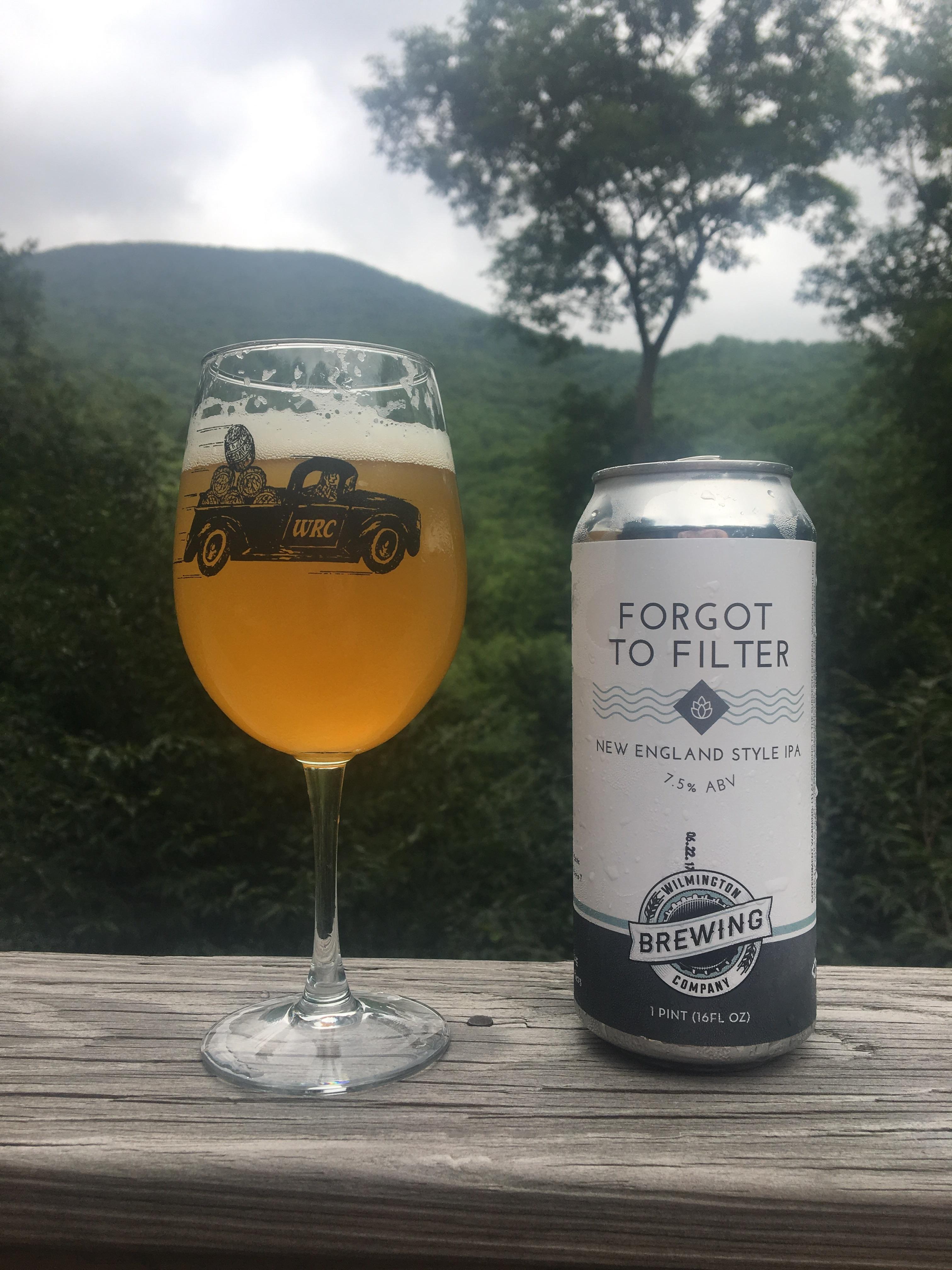 An eastern NC beer enjoyed somewhere near Boone NC