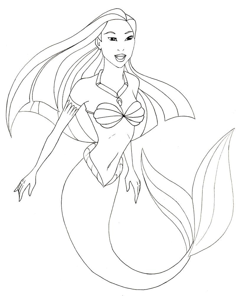 Image Result For Simple Mermaid Drawing